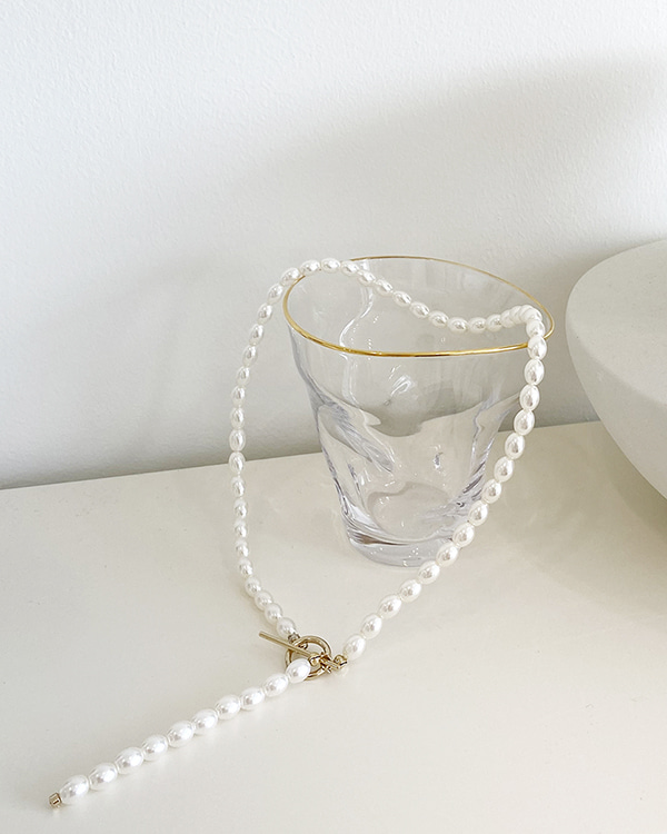 pearl drop necklace AC275