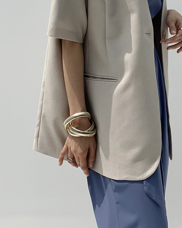 bold layered bangle